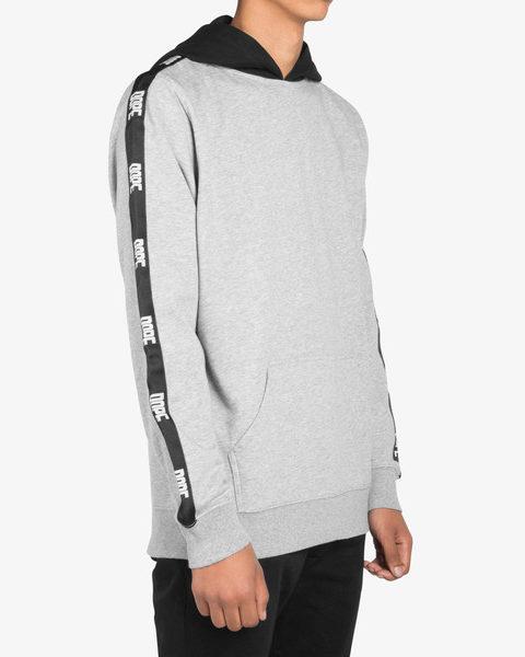 Jacquard Trim Pullover gray