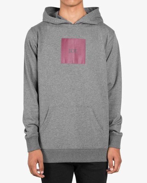 Square Logo Pullover gray